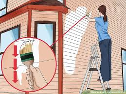 How To Paint A Front Door Without Removing It How To Paint Aluminum Siding 12 Steps With Pictures Wikihow