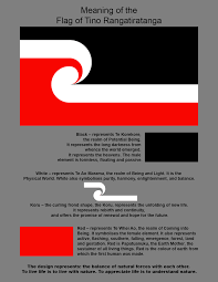 Colors Of Flag Meaning Meaning Of The Flag Of Tino Rangatiratanga The Maori National