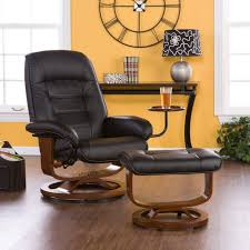 reading space decor theme comes with oak wood arms chairs and