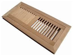flush mount wood floor vent register unfinished transitional