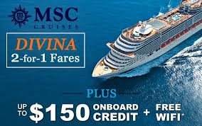 msc cruises 2017 and 2018 cruise deals destinations ships