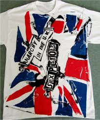 Anarchy Flag Anarchy In The Uk T Shirt Pistols Punk Union Jack Flag