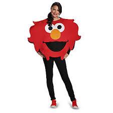 Halloween Costumes Sesame Street Sesame Street Elmo Big Head Halloween Costume Size