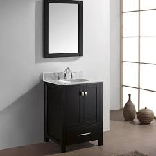 Bathroom Vanity 24 Inch by Usa Caroline Avenue 24 Inch Single Sink Black Bathroom Vanity Set
