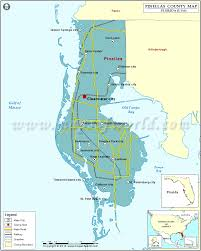Florida Rivers Map by Pinellas County Map Florida