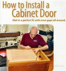 Cabinet Door Plans Woodworking Trouble Free Raised Panel Doors Cabinet Door Construction And