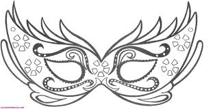 mask coloring pages itgod me