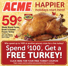acme turkey offer