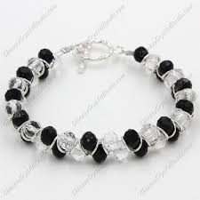white crystal bracelet images Crystal bracelets chinese crystal beads jpg