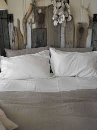 30 ingenious wooden headboard ideas for a trendy bedroom custom driftwood headboard that you can make at home design rough linen