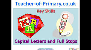 full stops and capital letters teaching resource youtube
