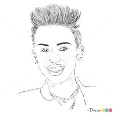 coloring pages of famous people 25833 bestofcoloring com