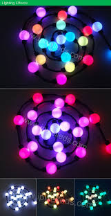 color ws2801 ic 360 degree pixel strobe disco deco