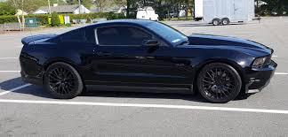 2012 Black Mustang Modified 2012 Black Mustang Gt Svtperformance Com