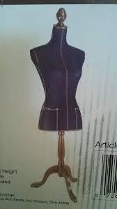 New hudson 43 dress form lady mannequin blue denim decorative