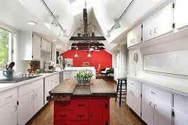 versatile and bold red kitchen designs