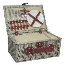 picnic basket for 2 2 person chiller fitted picnic basket