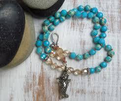 gemstone jewelry necklace images Handmade boho whmsical necklace handmade jewelry jpg