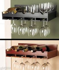 wall mounted wine glass rack amazing best 10 wine glass