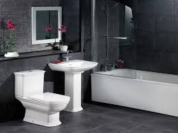 Download Black And White Bathroom Ideas Gencongresscom - Black bathroom designs