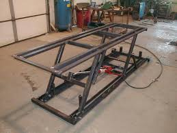 motorcycle lift table plans home made lift table pics page 4 harley davidson forums