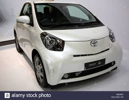 toyota iq toyota iq 4 seater city car editorial use only stock photo