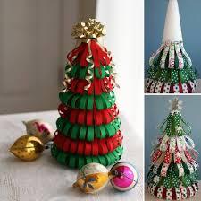 ribbon christmas tree craft christmas lights decoration