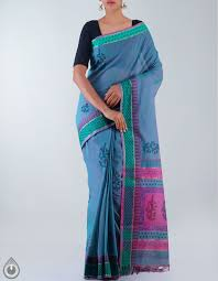 Cot Online Shopping Bangalore Casual Pink Mangalagiri Cotton Saree For Online Shopping Unm21004