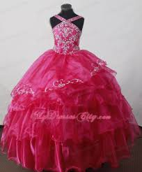 trendy summer floor length pageant dresses for kids my dress city