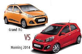 Kia I10 ôtô Dìm Nhau Hyundai Grand I10 Ra Hàng Kia Moring Liền Giảm Giá