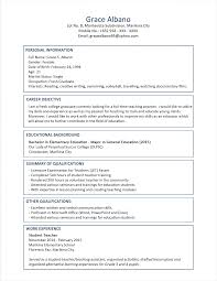 simple resume format for freshers pdf reader model resume format human resource sle in word engineering for