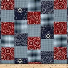 University Of Kentucky Home Decor Blue Bandana Fabric Com