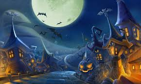 happy halloween pumpkin wallpaper bats wallpaper the wallpaper