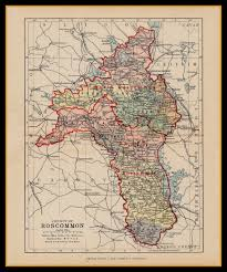 Norfolk County Wall Map Framed All Products Available At Old Folding Maps