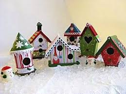 18 best birdhouse ornaments images on