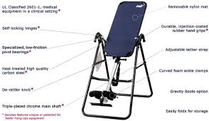 inversion bed teeter hang ups inversion table f5000 inversion tables