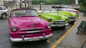 vintage cars havana cuba restored vintage american cars from the 50s in the