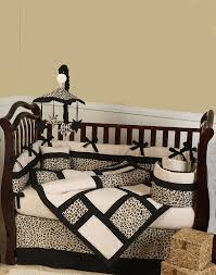 Cheetah Bedding Animal Safari Leopard Baby Bedding 9 Piece Crib Set Cheetah