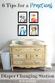 Diapers Changing Table Practical Changing Station Tutorial The Diy Lighthouse