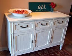 furniture dark wood flooring and white sideboard buffet and
