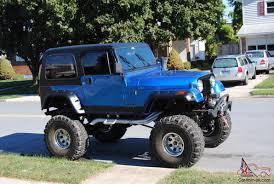 jeep scrambler blue cj cj7