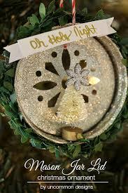 jar lid ornament uncommon designs