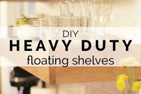 Heavy Duty Floating Shelves by Diy Concrete Kitchen Island Reveal How To Remodelaholic