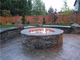 How To Build A Gas Firepit Propane Gas Pit Amepac Furniture Regarding Outdoor