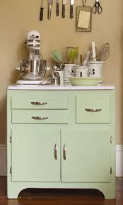 137 best fabulous kitchens and bathrooms mostly using chalk a kitchen cabinet received a custom vintage green with a mix of antibes green french linen and old white chalk paint decorative paint by annie sloan