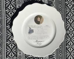 keepsake plates photo plates etsy