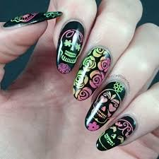 gradient sugar skulls moyou london youtube