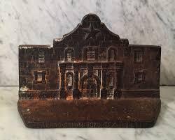vintage the alamo doorstop alamo iron works san antonio tx texas