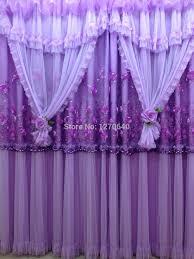 Purple Drapes Or Curtains 2015 News Lace Drape Window Curtain Shade Sequin Design Purple