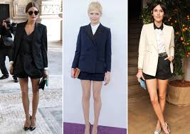 new years shorts get the look a feminine tux for new year s coco kelley